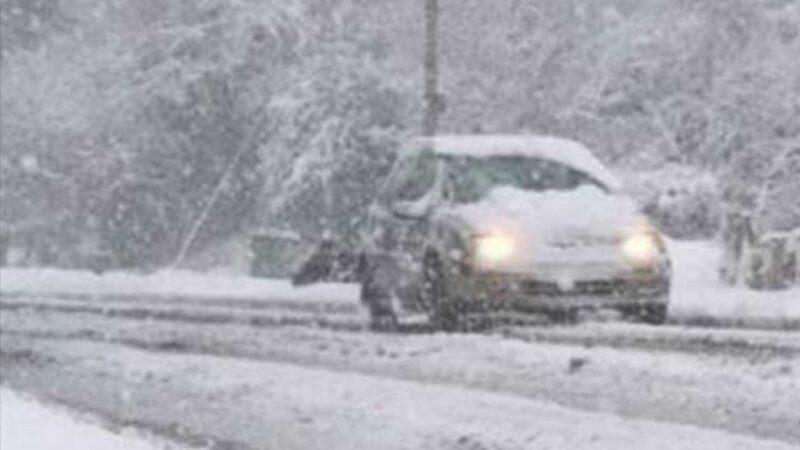 Arriva la neve nel Crotonese